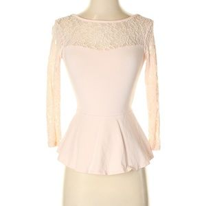 Express Size XS  3/4 Sleeve Top